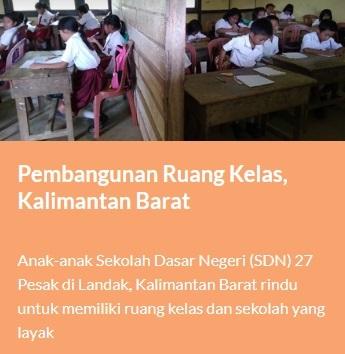 Pilih Hadiah Anda Untuk Anak Indonesia Yang Membutuhkan Melalui Wahana Visi Indonesia